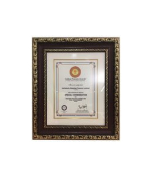 Certificate for 'Risk Management'
