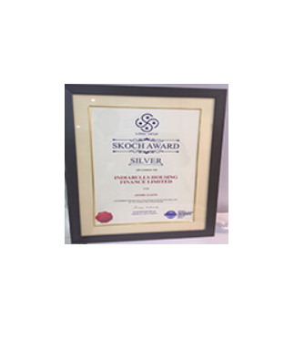 'SKOCH Smart Technologies Sustainable Growth - Silver Award (e-Home Loans)'