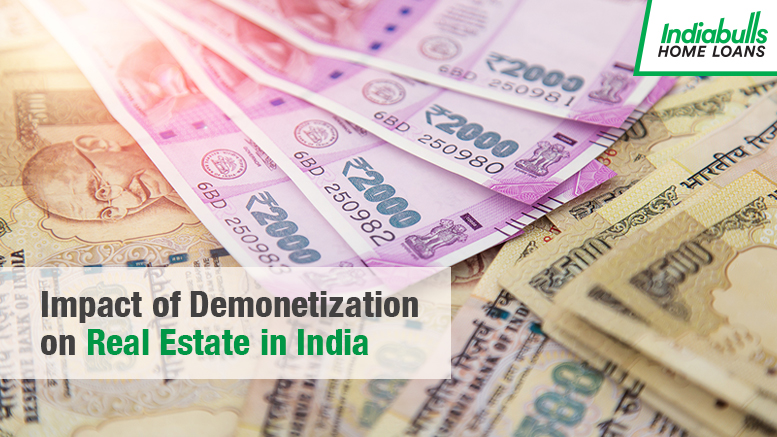 The Impact of Demonetization on Real Estate in India