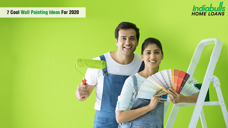 Wall Painting Designs House Painting Design Color Ideas Indiabulls Home Loans
