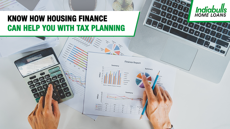 Know How Housing Finance can help you with Tax Planning