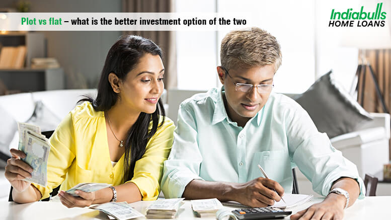 Plot vs flat – what is the better investment option of the two
